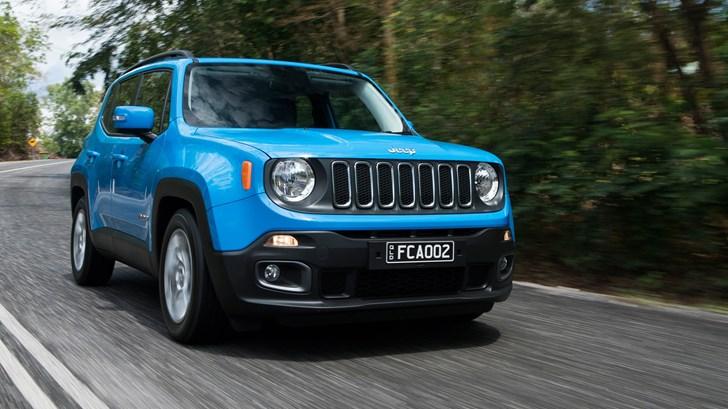 2017 Jeep Renegade Longitude