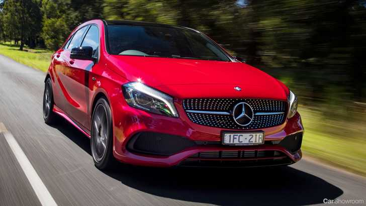news 2018 mercedes benz a class to get two rear suspension setups. Black Bedroom Furniture Sets. Home Design Ideas