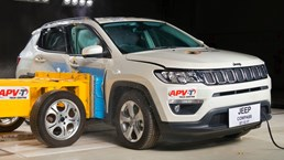 2018 Jeep Compass Gets 5-Star ANCAP Rating