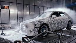 2018 Mercedes-Benz A-Class Goes Winter Testing