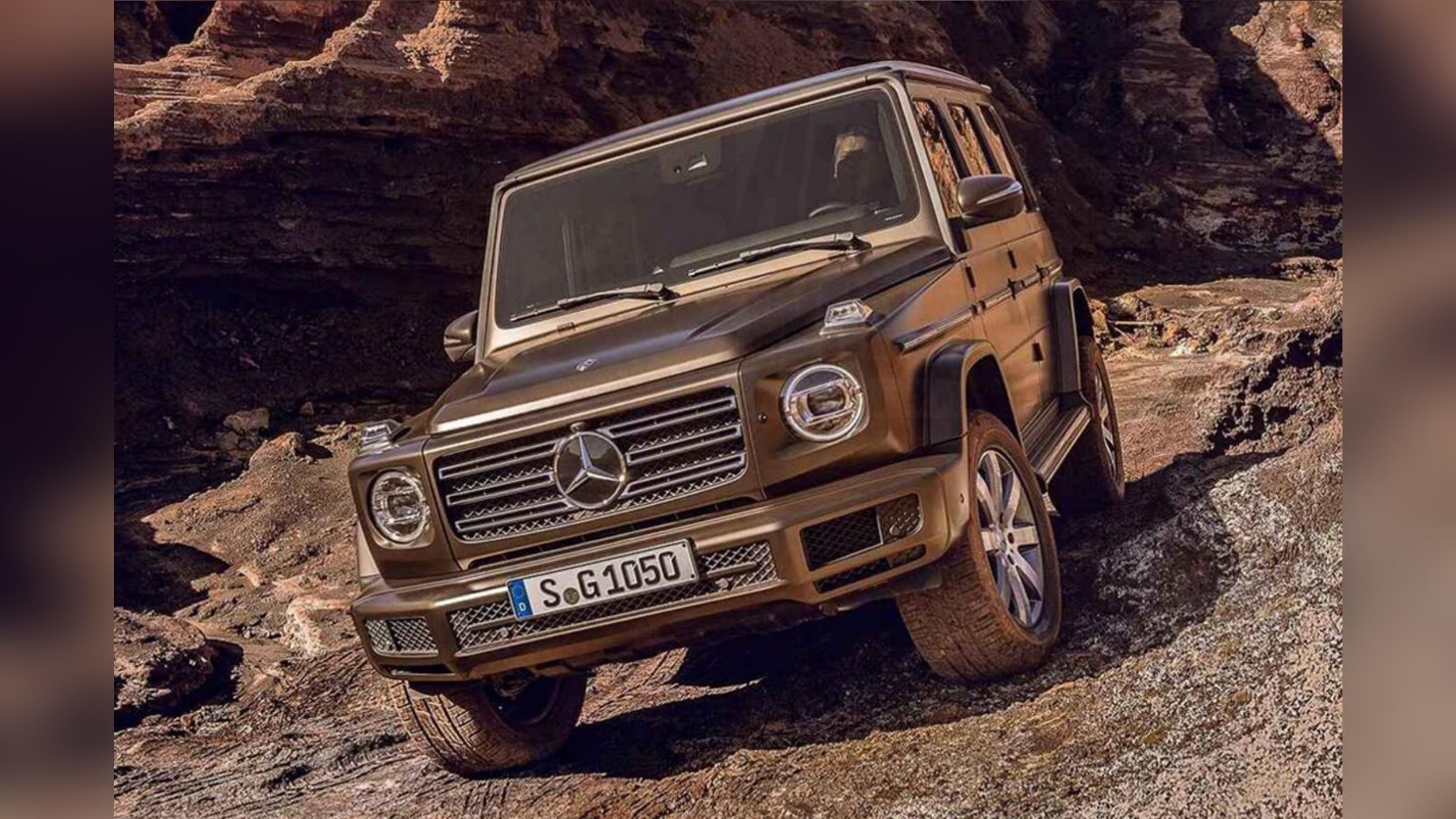 News 2018 mercedes benz g class looks like it should for Mercedes benz that looks like a jeep