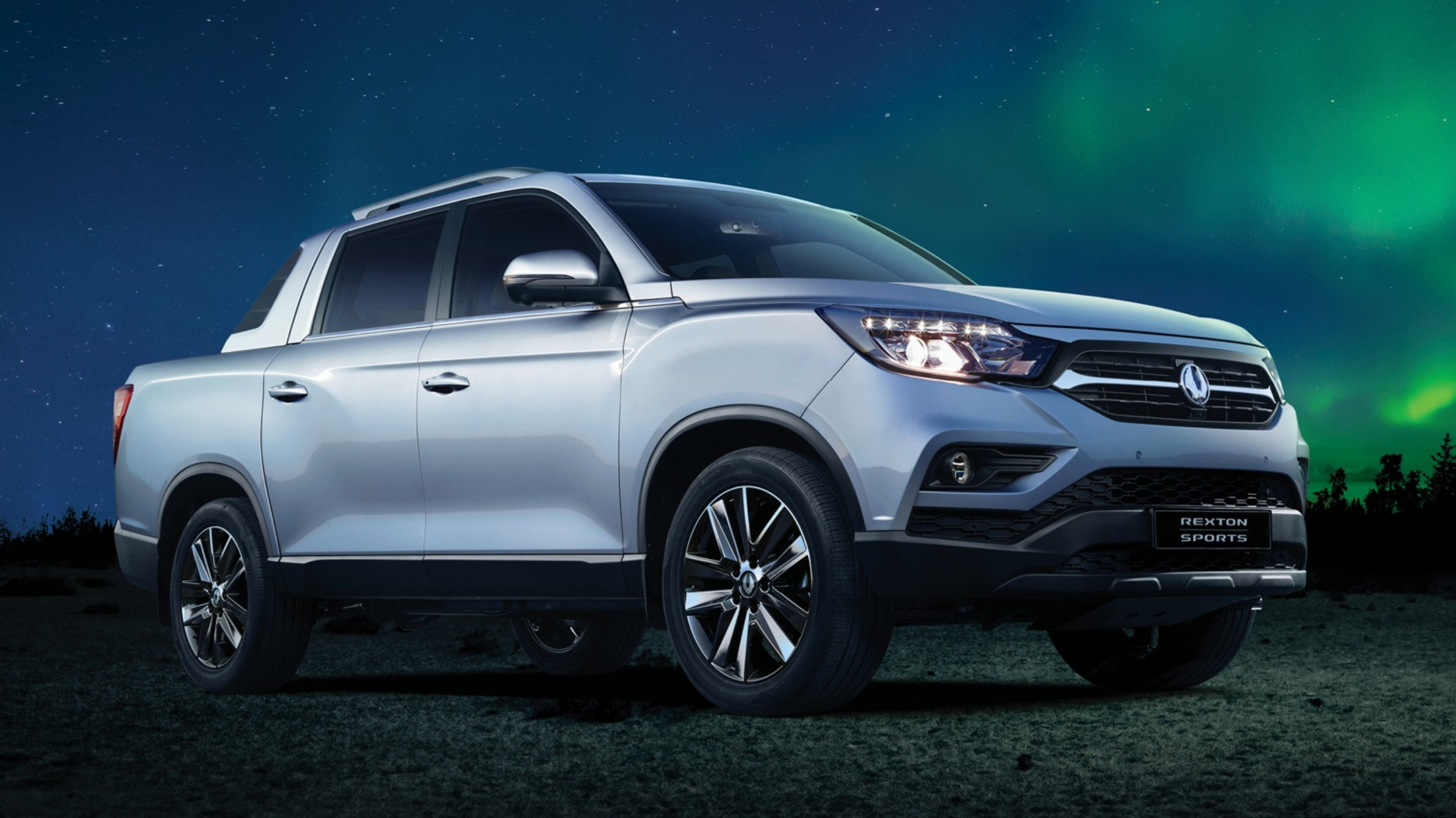 News 2018 Ssangyong Rexton Sports Ute Breaks Cover