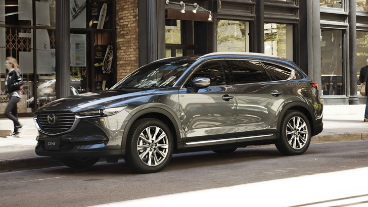 Mazda CX-8 To Join Australian Line-Up In 2018