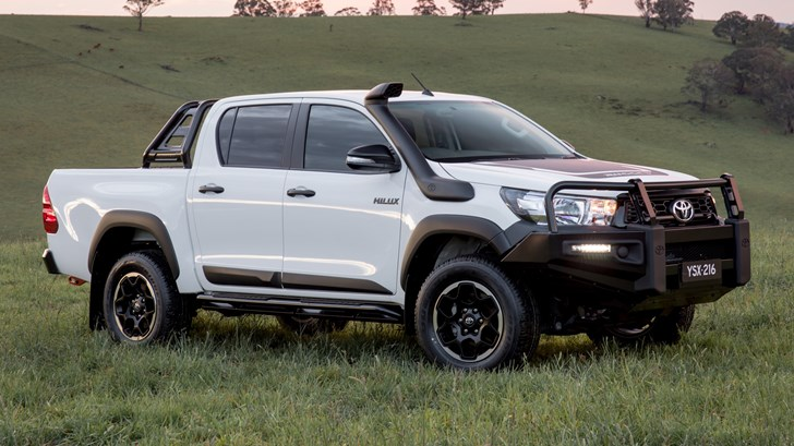 Toyota AUS To Launch HiLux Rogue, Rugged, Rugged X In 2018