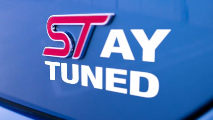 Ford Performance Teases A New ST For Detroit