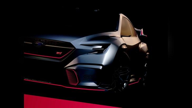Subaru Viziv STI Concept, Signalling A New STI?