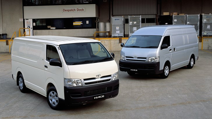 2018 Toyota HiAce - Australia