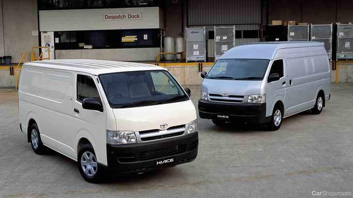 fe249a0cddb16e Review - 2018 Toyota HiAce - Review