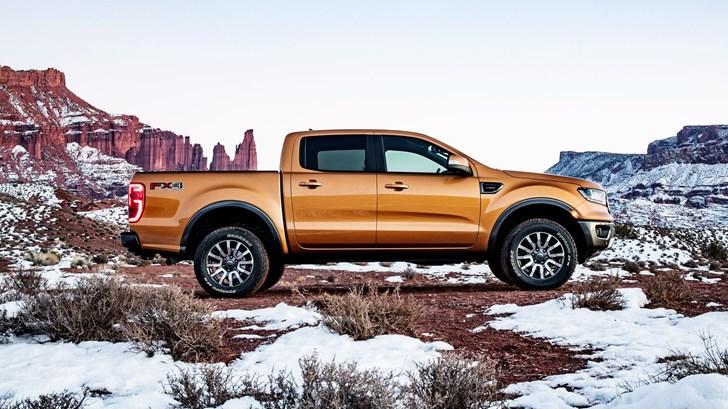 2019 Ford Ranger FX4 Lariat Supercrew - Detroit Motor Show