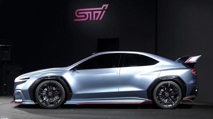 2018 Subaru Viziv Performance Concept STI