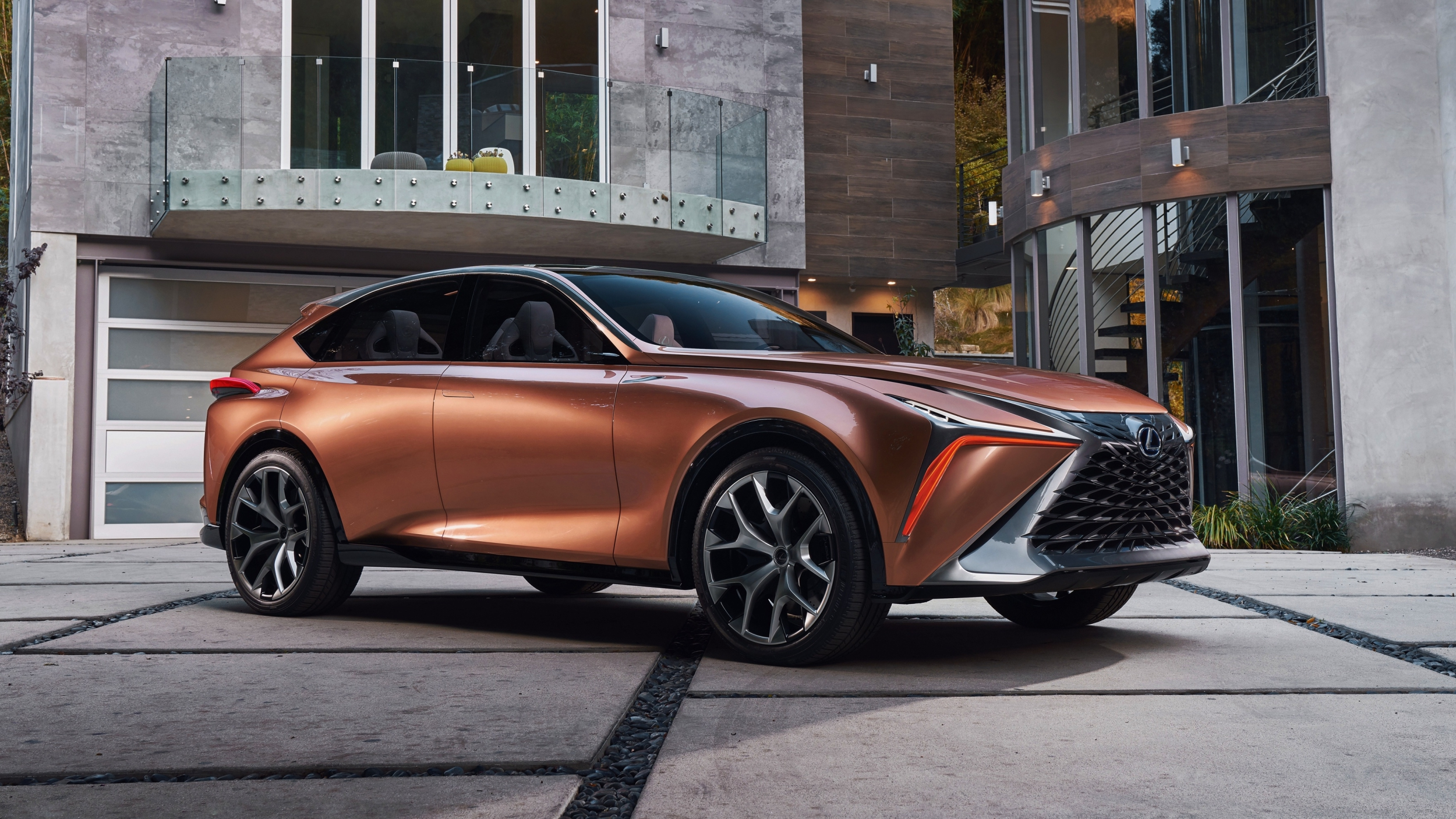 news lexus lf 1 limitless concept hints at a new suv flagship. Black Bedroom Furniture Sets. Home Design Ideas