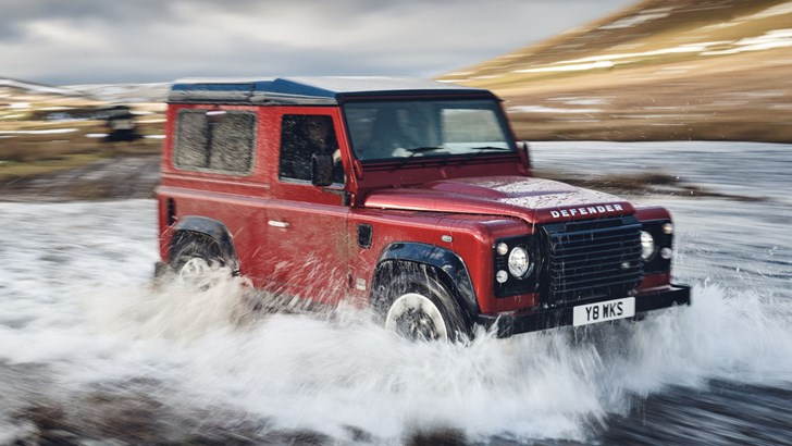 2018 Land Rover Defender Works 70th Anniversary