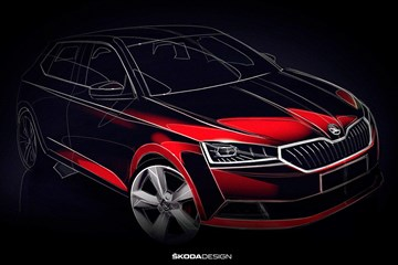 Skoda Teases Substantial Fabia Update For 2018