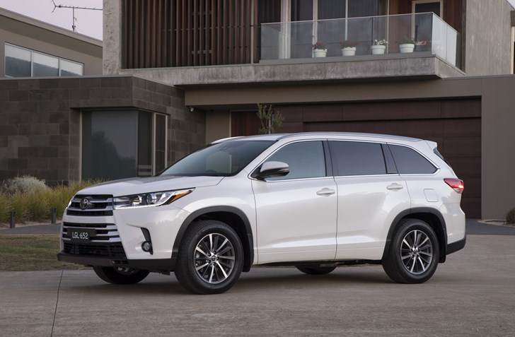 News Toyota Kluger Gets Safety Update For 2018
