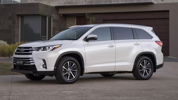Toyota Kluger Gets Safety Update For 2018