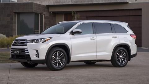 Toyota Kluger Gets Safety Update For 2018