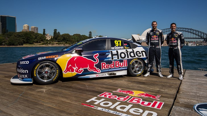 Red Bull HRT Reveals ZB Commodore Supercar