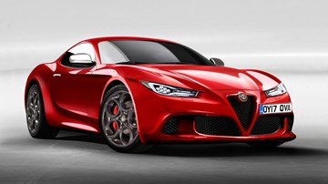Alfa To Hunt Down F-Type, 911 With New 6C Sports Car