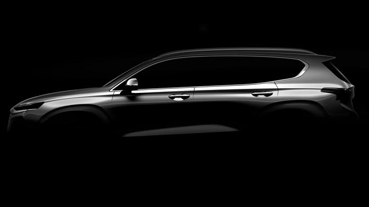 Hyundai Teases All-New Santa Fe For Geneva Debut