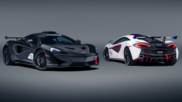 McLaren MSO X: 10 Race-Inspired 570 Coupes For USA