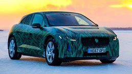 Jaguar's I-Pace Can Charge 80% In 45-Minutes