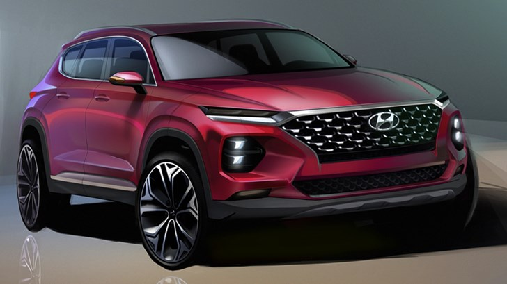 2018 Hyundai Santa Fe – Sketches