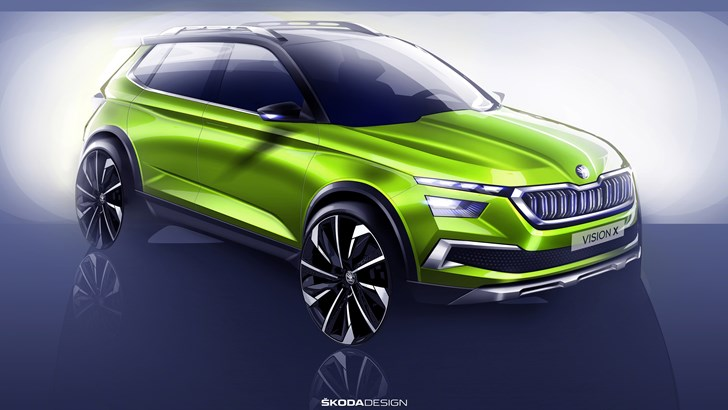 Skoda To Reveal Vision X Crossover Concept In Geneva
