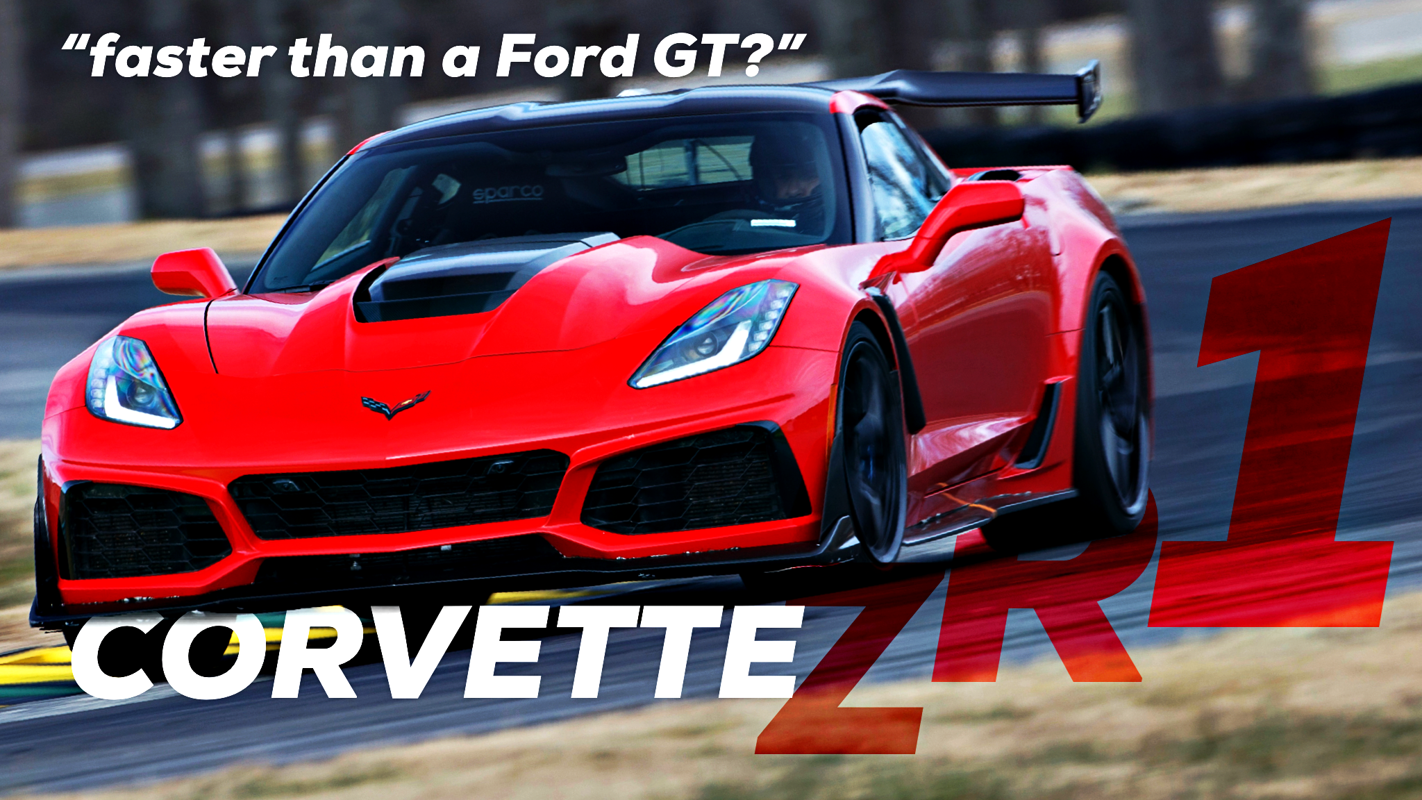 2019 Corvette ZR1 Beats Ford GT's VIR Lap Record