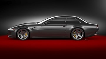 Ares To Resurrect Ferrari 412 Made From GTC4Lusso