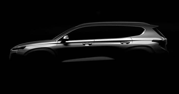 Hyundai Previews All-New 2019 Santa Fe Pre-Geneva