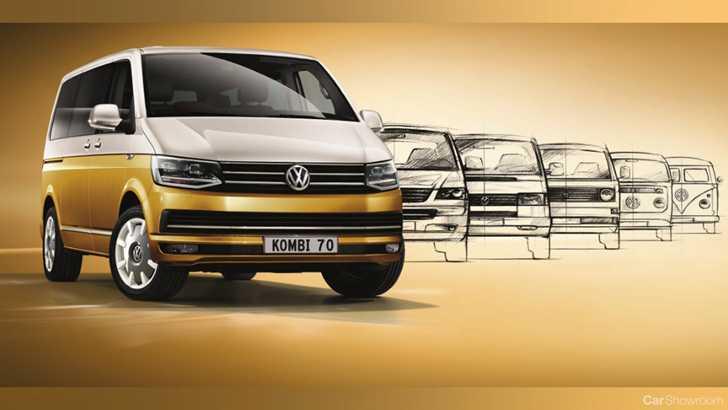 757e3f05c4f326 News - 2018 Volkswagen Multivan Kombi 70 Brings Retro Cool