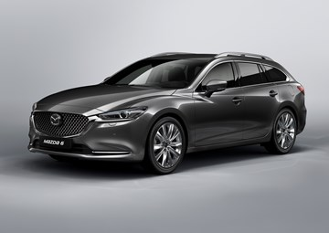 Mazda Previews New 6 Wagon Ahead Of Geneva Debut