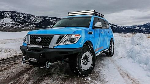 2018 Nissan Armada Snow Patrol - Chicago Motor Show