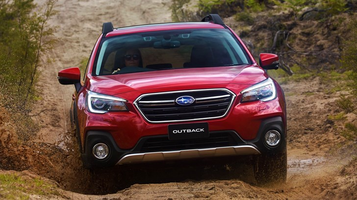 2018 Subaru Outback – Various