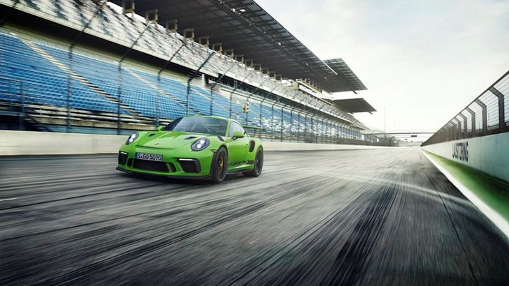 Porsche's Updated 991.2 GT3 RS Leaked