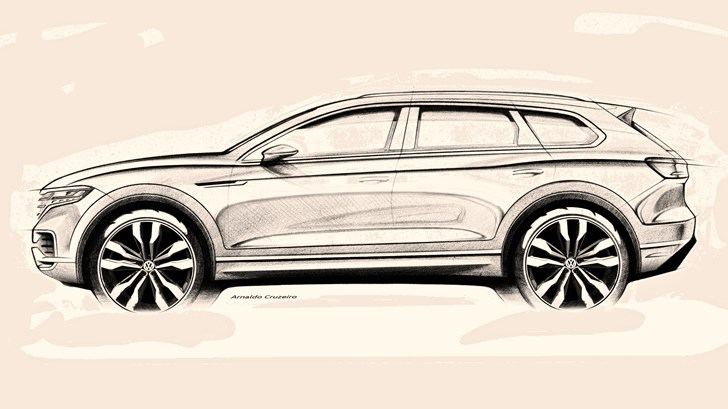 2018 Volkswagen Touareg Due In March