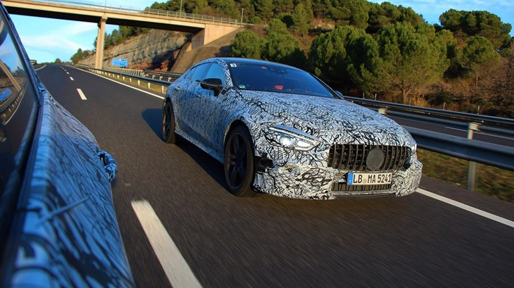 2018 Mercedes-AMG GT Saloon – Official Teasers
