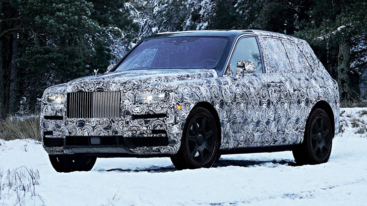 2019 Rolls-Royce Cullinan – Teasers