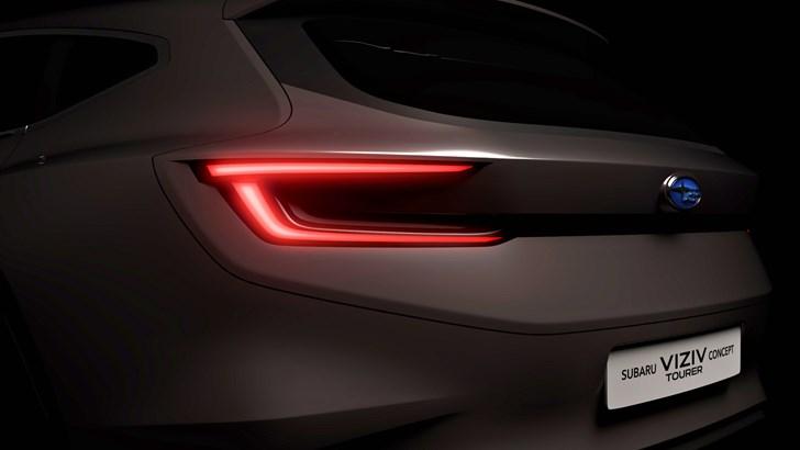 Subaru Teases Geneva-Bound Viziv Tourer Concept