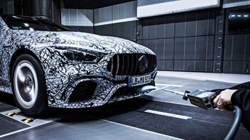 Mercedes-AMG Teases GT Saloon, Again