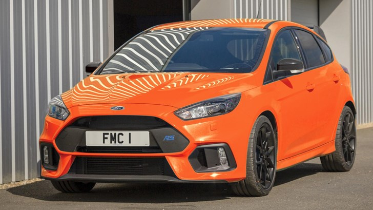 Ford Focus RS Production Stops In April With Heritage Edition