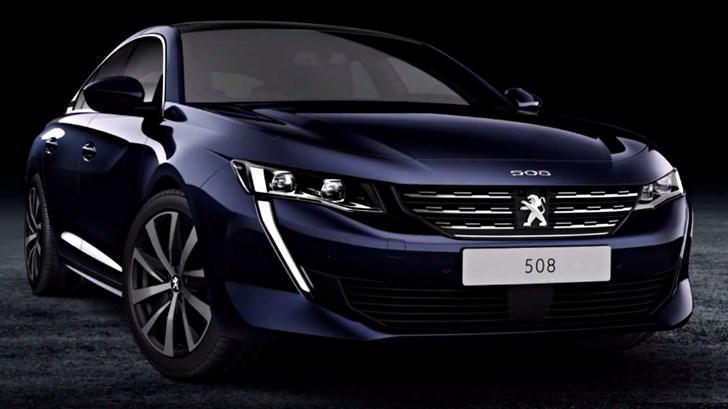 2018 Peugeot 508 – Leaked