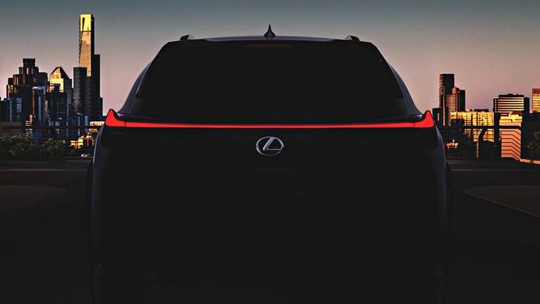 Lexus Teases UX Crossover For Geneva
