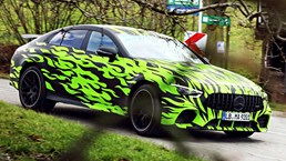 2019 Mercedes-AMG GT-4 – Teasers