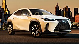Lexus Adds New UX Compact Crossover To The Range