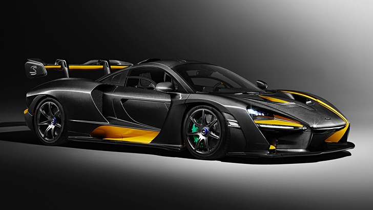 2018 McLaren Senna – Carbon Theme Edition