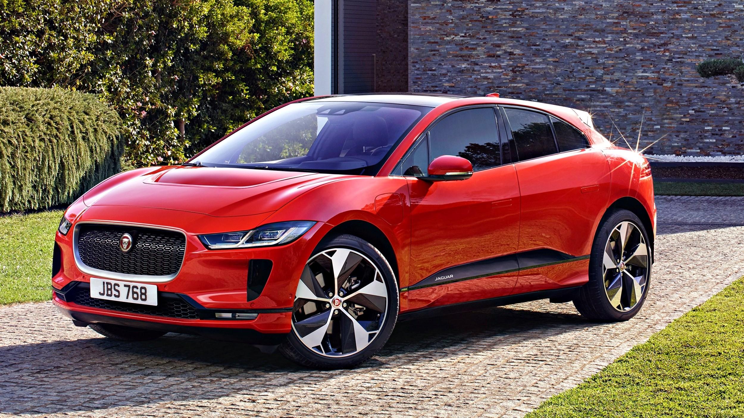 Jaguar I-Pace Finally Revealed: $119k, Here October Thumbnail