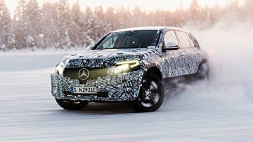 Mercedes-Benz EQC, GLC F-Cell Work Well In Snow