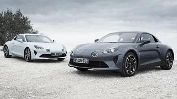 Alpine's New A110 Variants: Pure and Légende