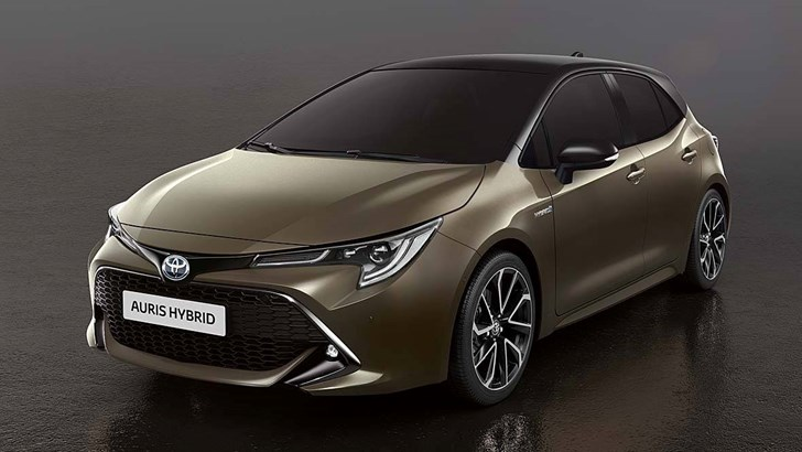 Sporty Hybrid - Is This The All-New Toyota Corolla Hatch?